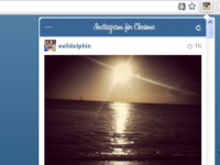 Instagramの写真をChromeで見れる拡張!「Instagram for Chrome」