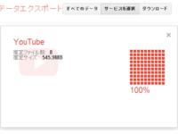 Google TakeoutがYouTubeに対応! 動画をまとめてダウンロード可能に