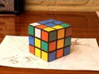 思わず目を疑いたくなる錯視動画「Amazing Anamorphic Illusions!」