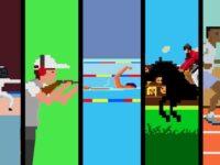 オリンピックをファミコン8bit風ドット絵で表現した動画が凄い