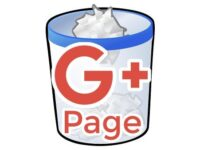 Google+ページを削除する方法