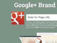 あなたのGoogle+ページを審査する便利ツール「G+ Brand Page Audit」