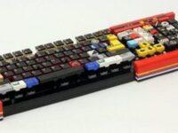 マジで動く! LEGO(レゴ)で作られたパソコンキーボード!